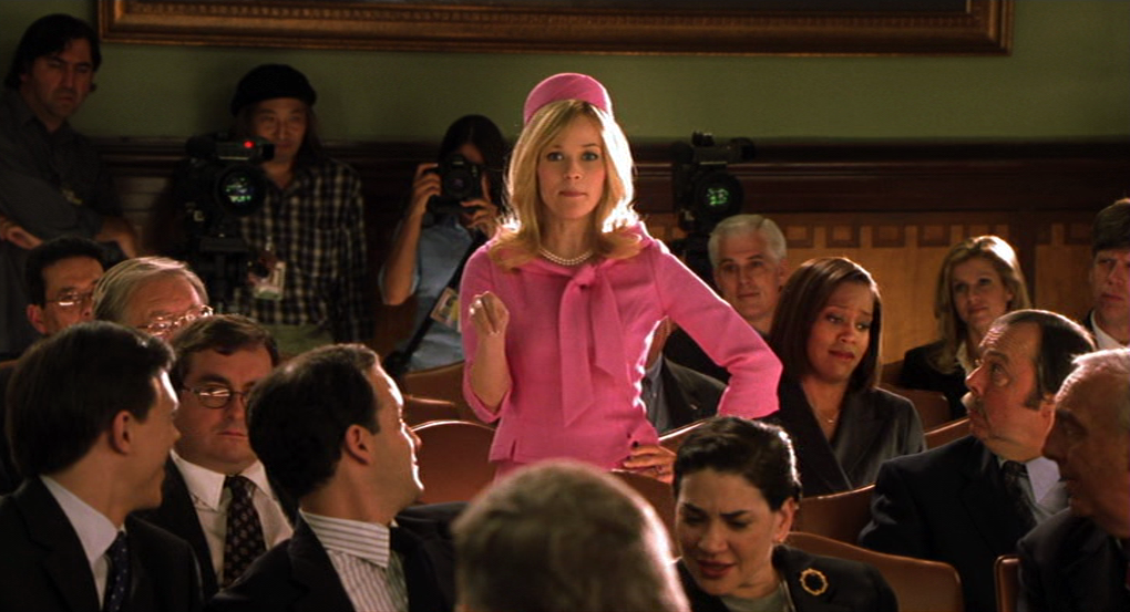 Legally Blonde Red Room
