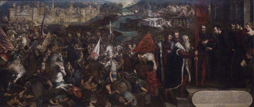 Assedio di asola -1544/45 -Tintoretto