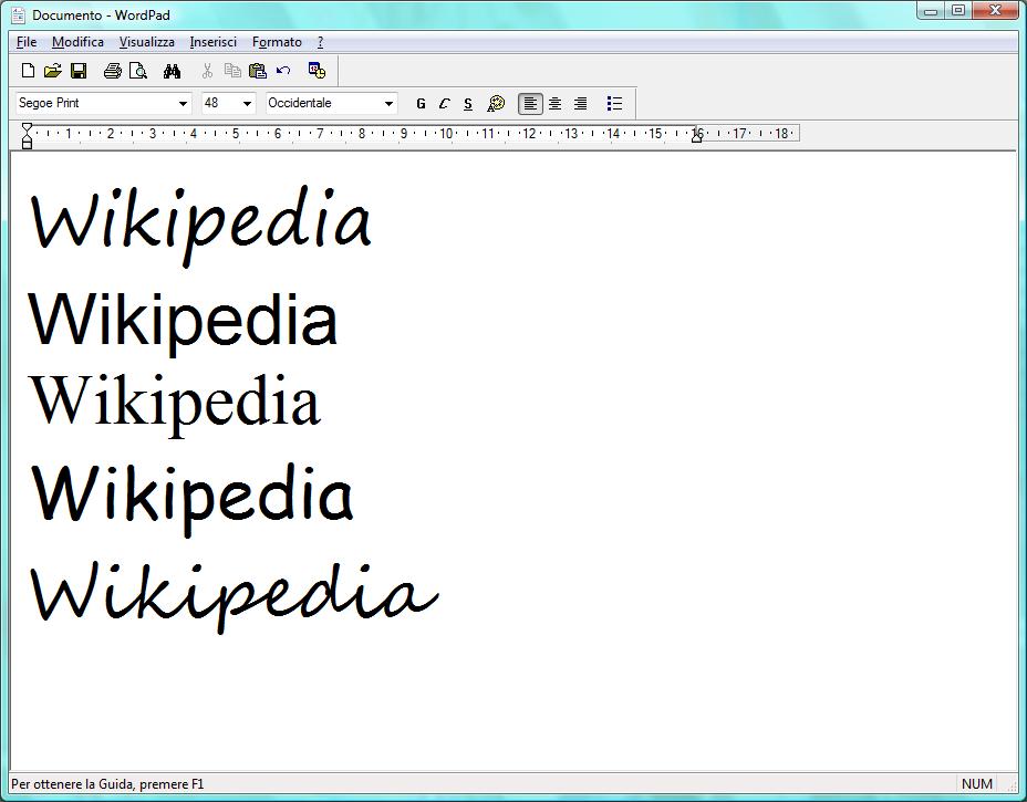 wordpad 2006