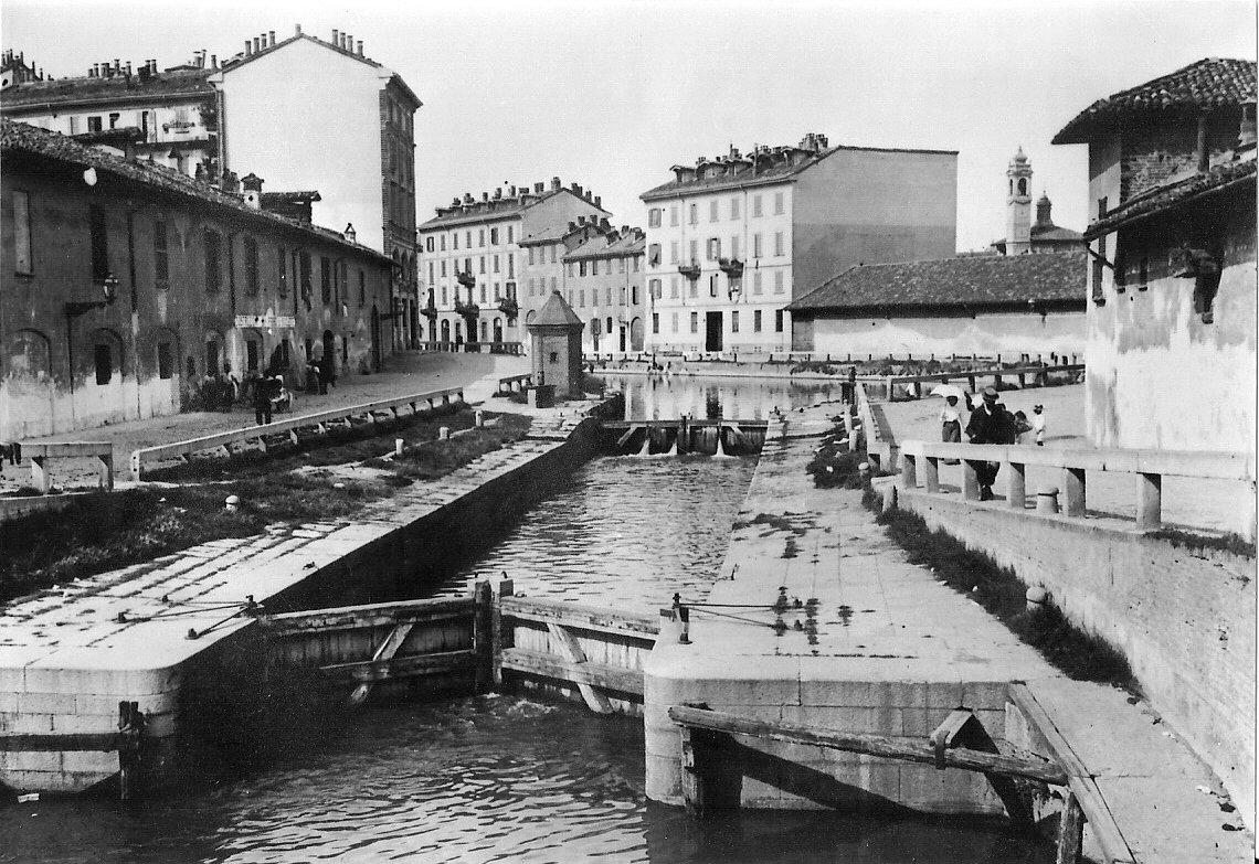 File Navigli Di Milano Via Conca Del Naviglio001 Jpg Wikipedia
