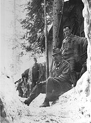 Alpini sul fronte dell'Adamello
