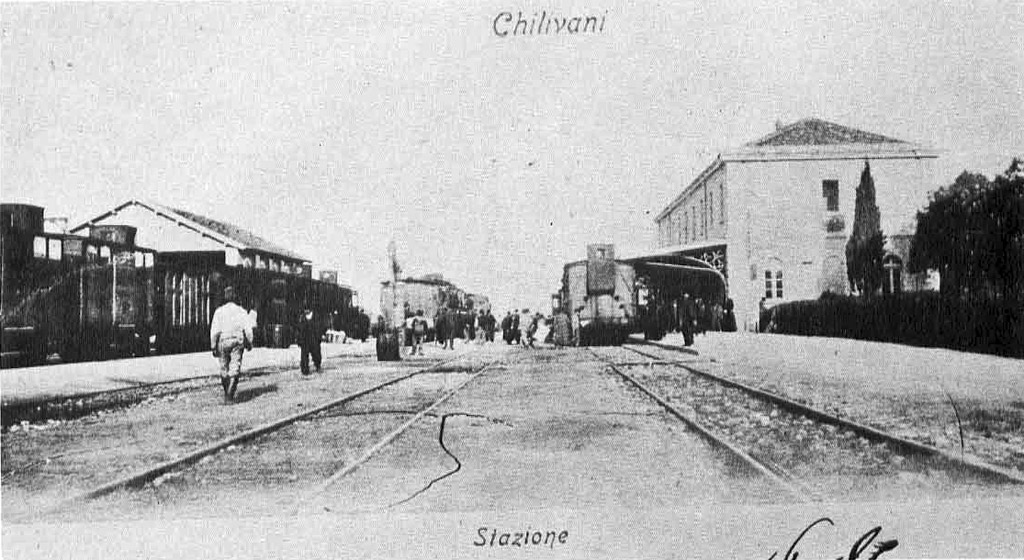 File stazione di chilivani ozieri ss wikipedia for 2 piani di cabina di ceppi di storia