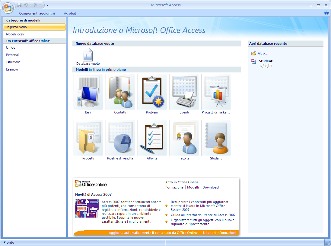 how to use module in ms access 2007