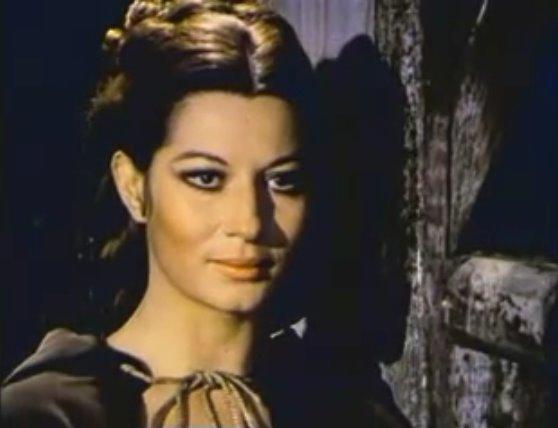 Rosalba Neri nei panni di Tania Frankenstein