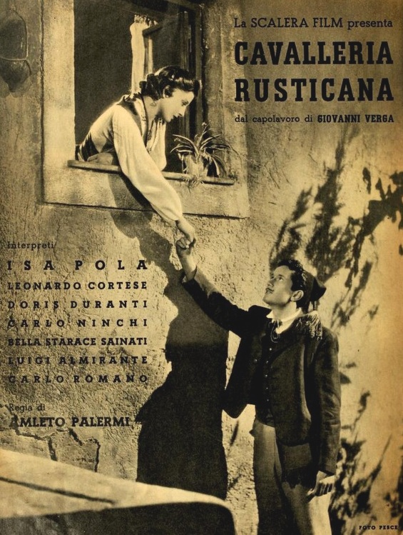 Cavalleria rusticana (film 1939) - Wikipedia