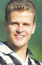 Il tedesco Oliver Bierhoff, bomber friulano nella seconda metà degli anni 1990.