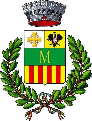 Lo stemma di Montresta in Palanargia, fondata da esuli greci