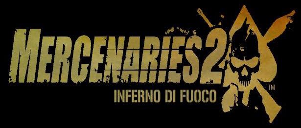 Mercenaries 2 Logo. videogioco Mercenaries 2: