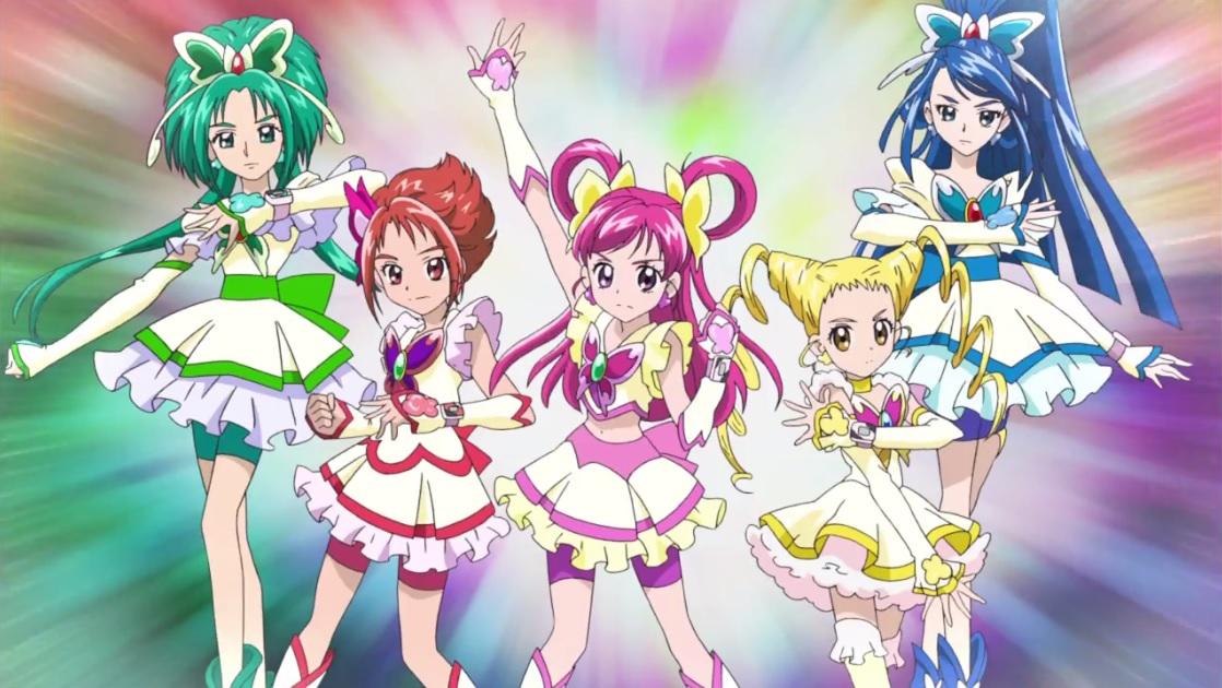 YES Precure 5 Five Gogo Pretty Cure Kawaii Toy Cure Fleure Pretty Cure japan
