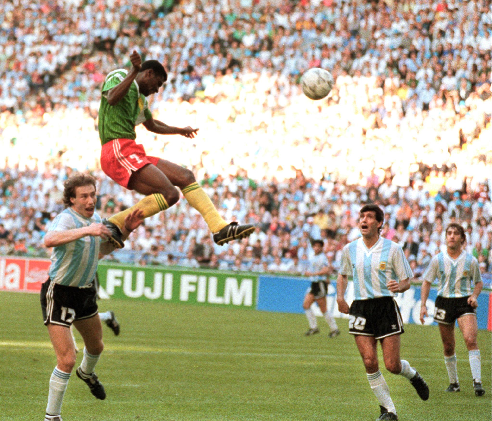 Image result for camerun 1990