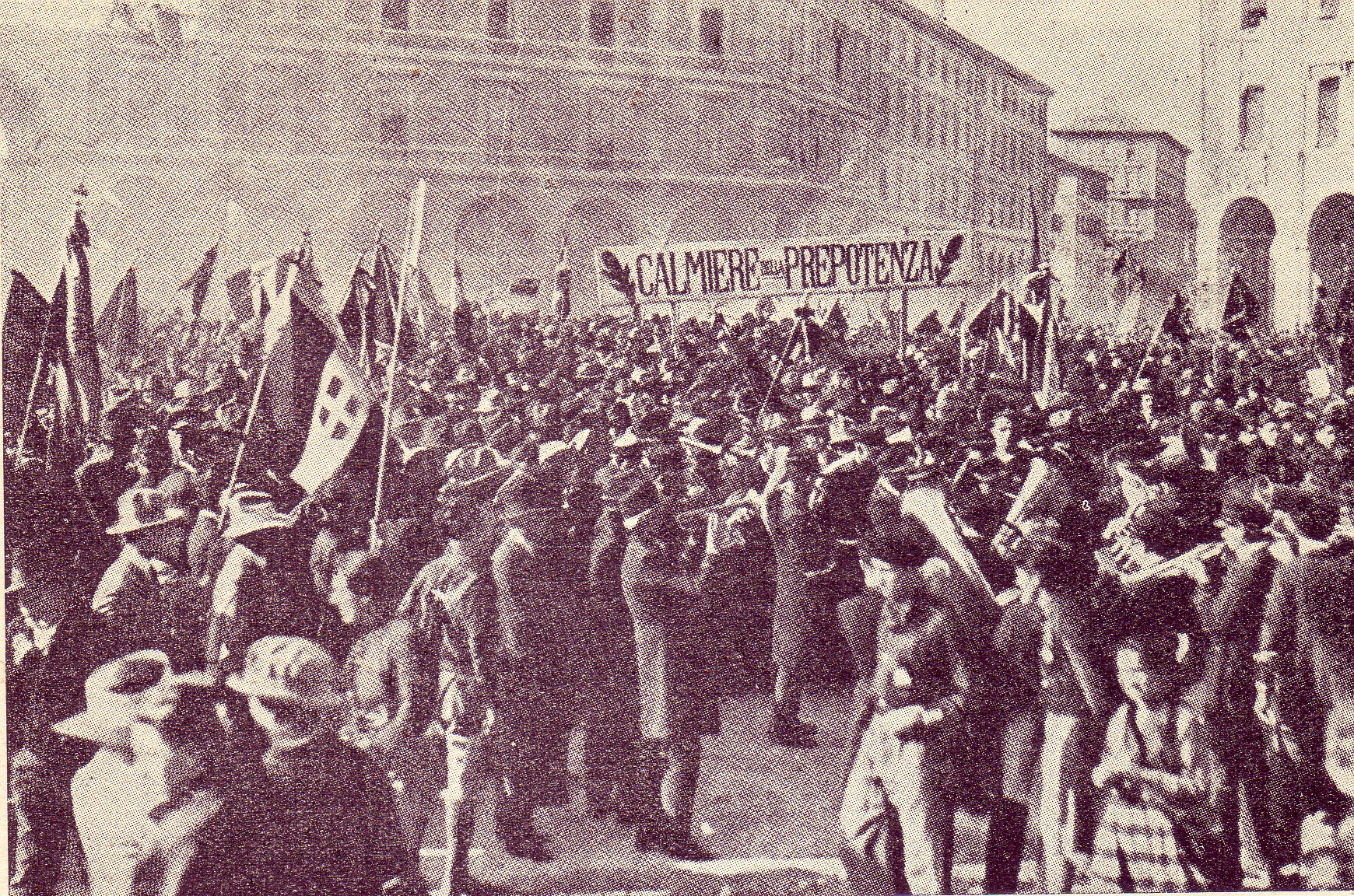 File Bologna 1921 Manifestazione Dei Fasci Italiani Di