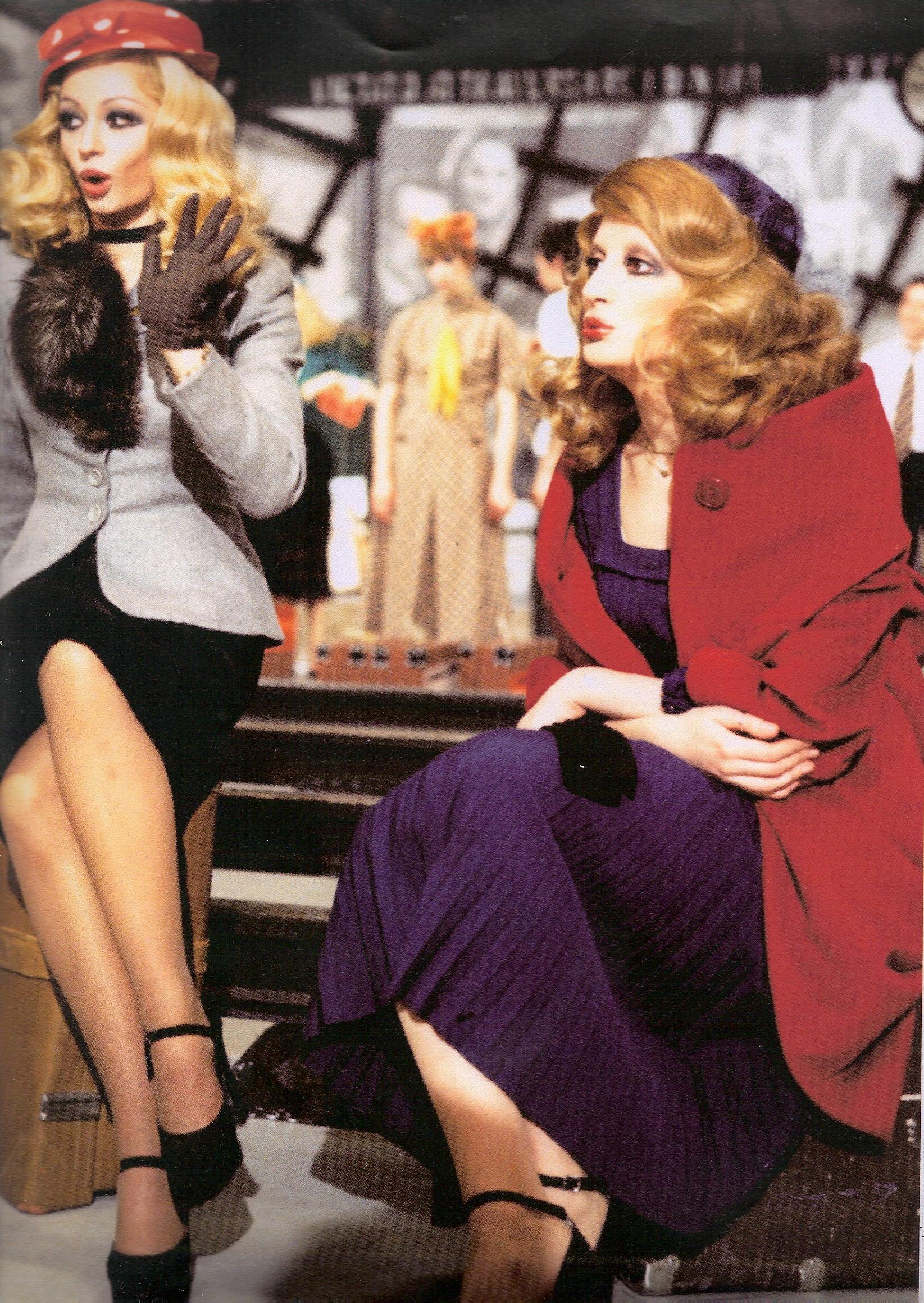 Mina e raffaella carr in milleluci 1974
