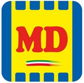 Md Discount Logo Letters