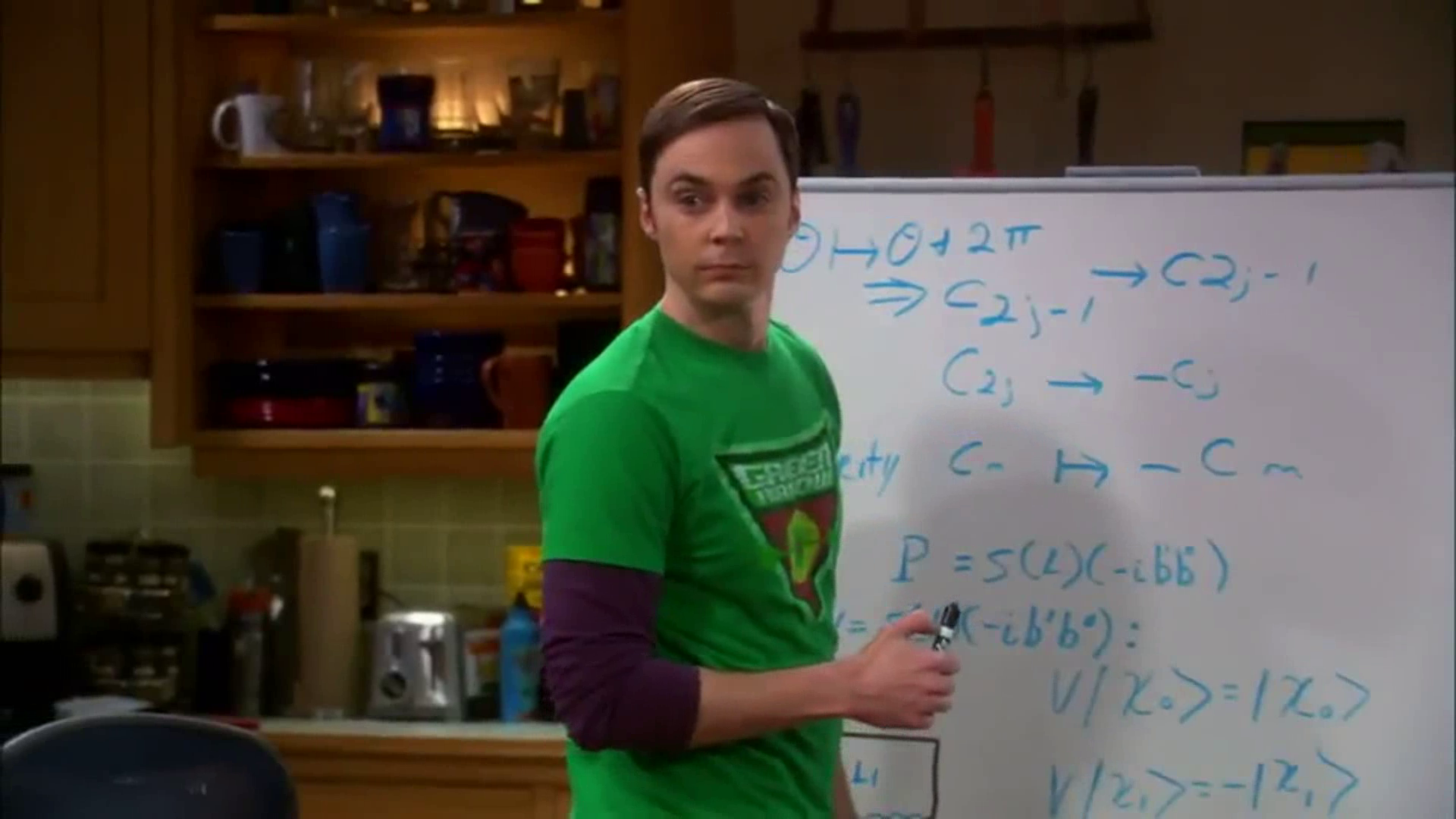 sheldon cooper in the big bang Sheldon: sexual insecurity  what do sheldon cooper and the black hole have in common  the big bang theory season 9 promo.