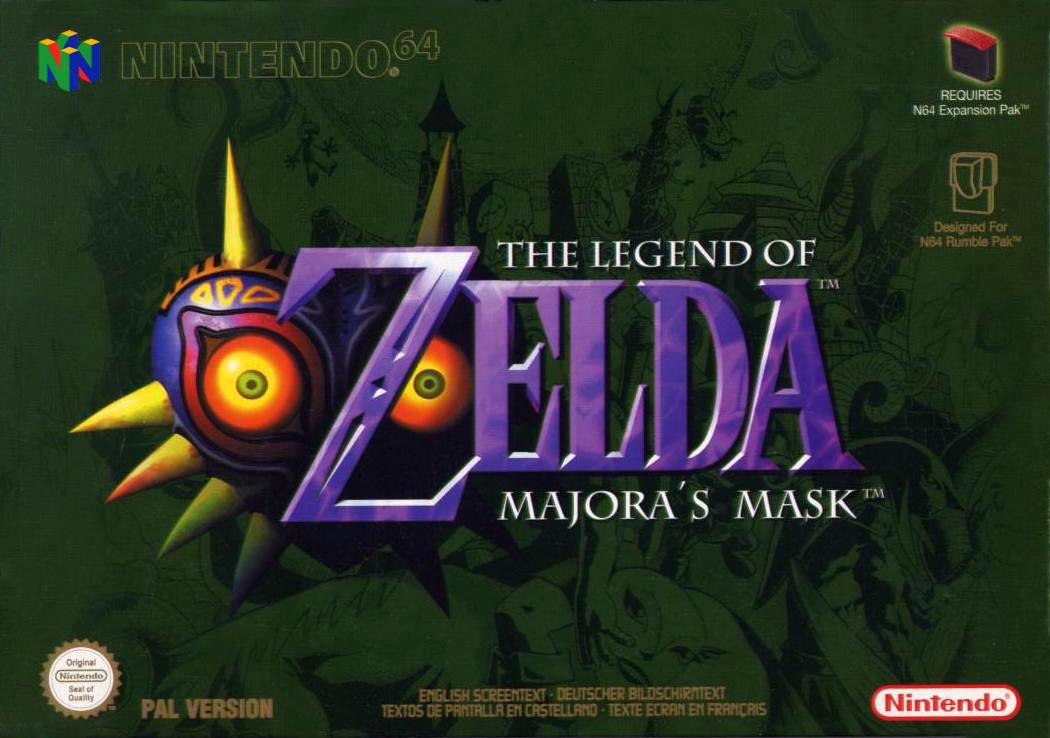 Zelda Majora S Mask Bed Set