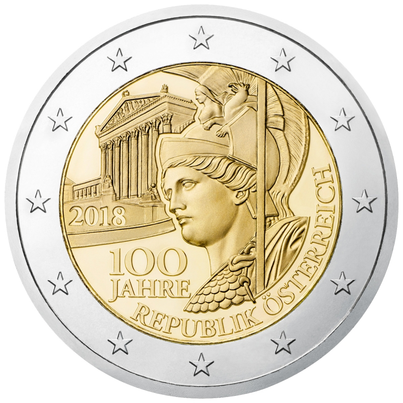 2 Euro Commemorativi Emessi Nel 2018 Wikipedia