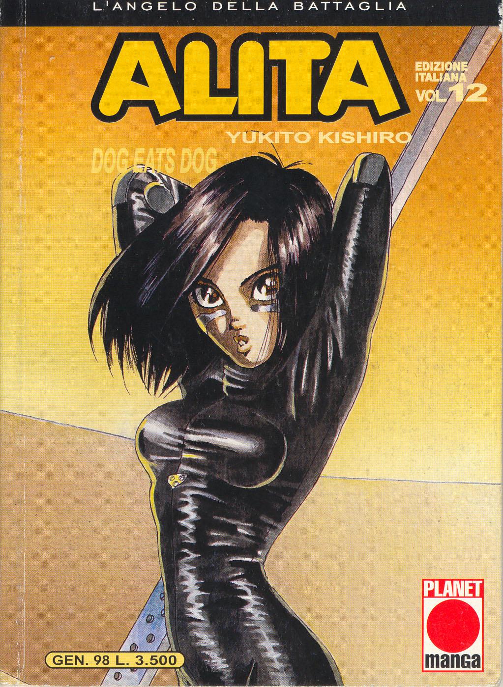 Alita Battle Angel >> Alita l'angelo della battaglia - Wikipedia