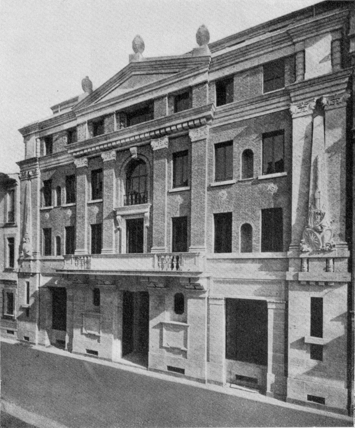 Casa dei fasci milanesi wikipedia for Piani casa dei caraibi