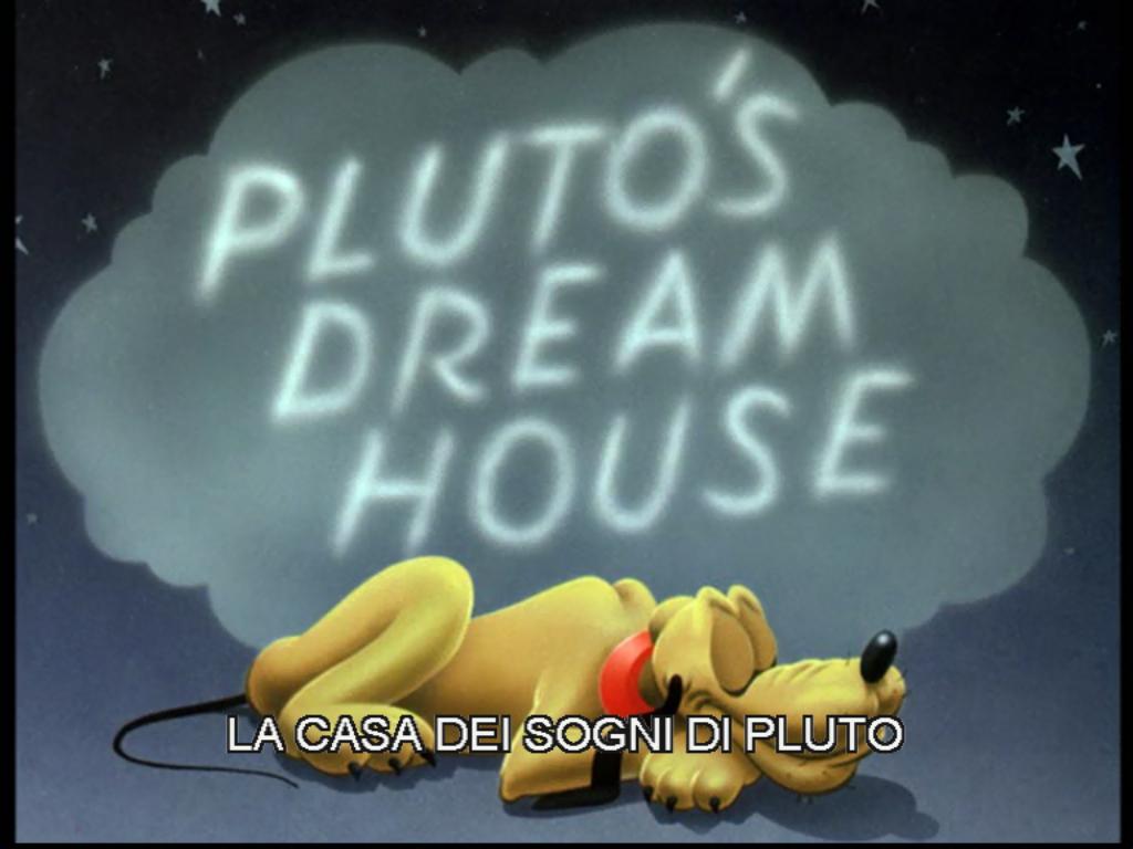 La casa dei sogni di pluto wikipedia for Costruisci la tua casa dei sogni