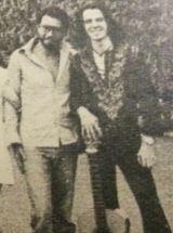 Antonello Venditti al Folkstudio nel 1971 (insieme al chitarrista Paolo Gatti)