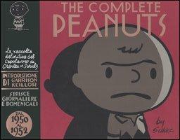 Charlie Brown, nel suo aspetto iniziale in seguito evolutosi, uno dei personaggi principali dei Peanuts (da The Complete Peanuts, I volume).