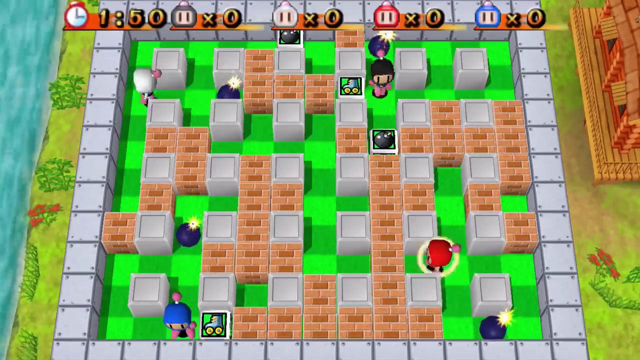 bomberman videogioco