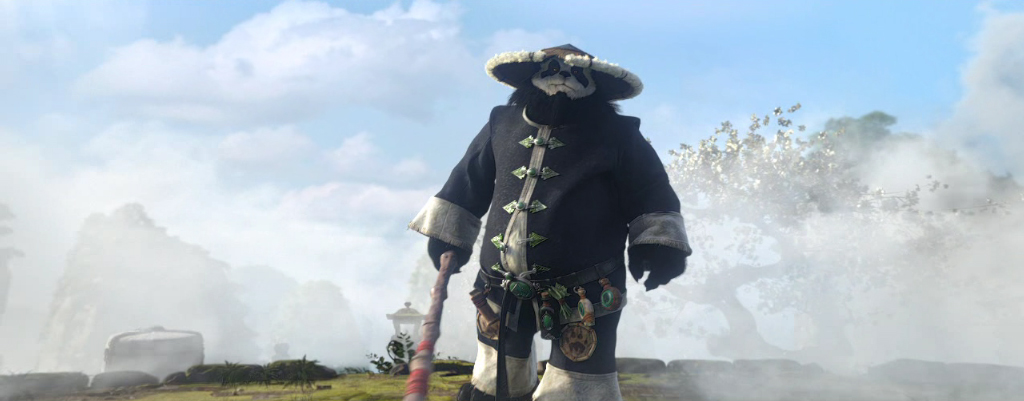 What do you think a pandaren would look like in real life for Terrace of the endless spring location
