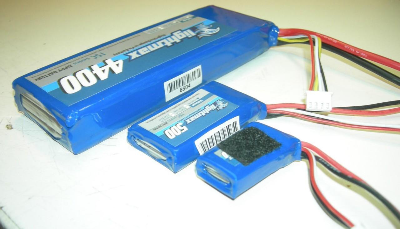 batteria lipo troppo