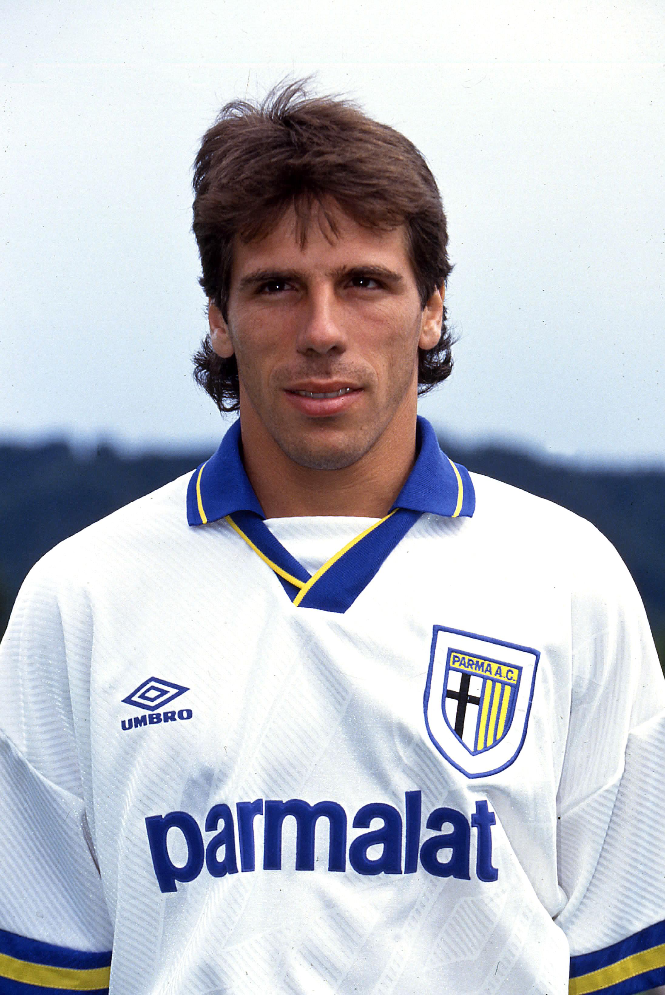 Nella foto: Zola al Parma nel 1993