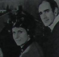 Tonina Torrielli con il marito, il batterista Mario Maschio, sposato nel 1960