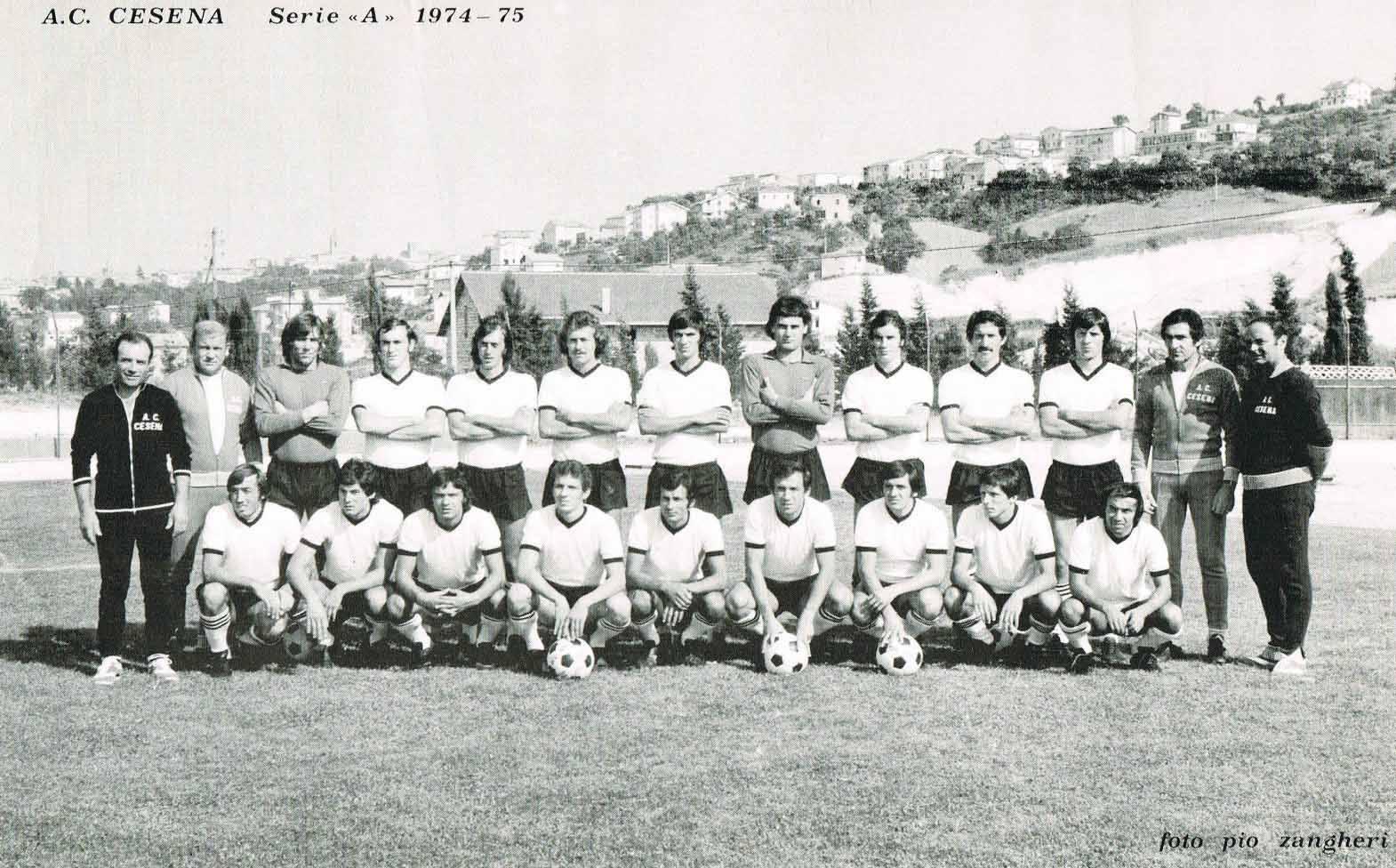 Cesena Calcio Calendario.Associazione Calcio Cesena 1974 1975 Wikipedia