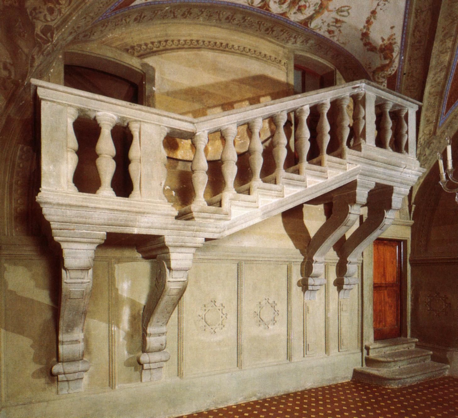 Medici Apartments: File:Villa Di Poggio A Caiano, Scalone Di Bianca Cappello