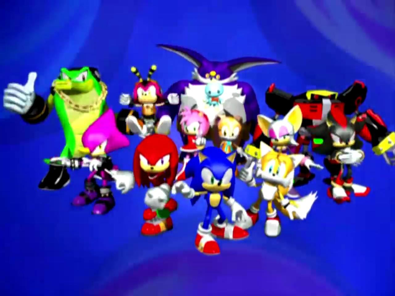 Personaggi Di Sonic Wikipedia