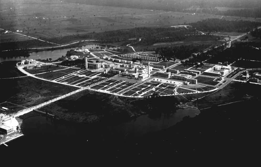 Veduta aerea di Sabaudia 1934