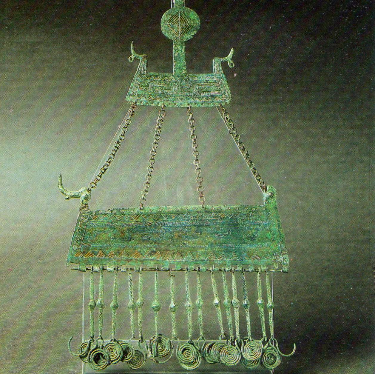 Museo Archeologico Nazionale delle Marche - pettorale con barca solare.jpg