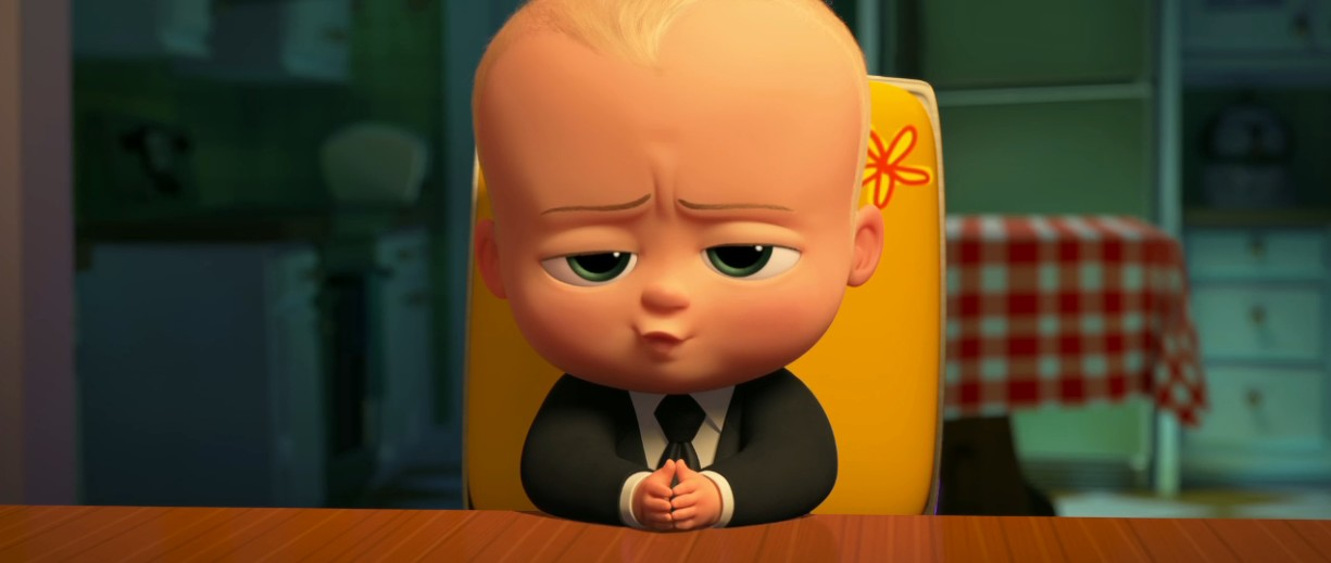 Il nuovo cartone animato in d the boss baby