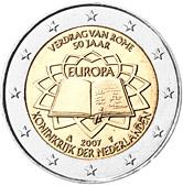2 euro commemorativo Trattati di Roma Olanda 2007.jpg