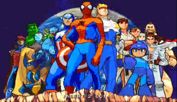 arcade marvel vs capcom clash of super heroes download