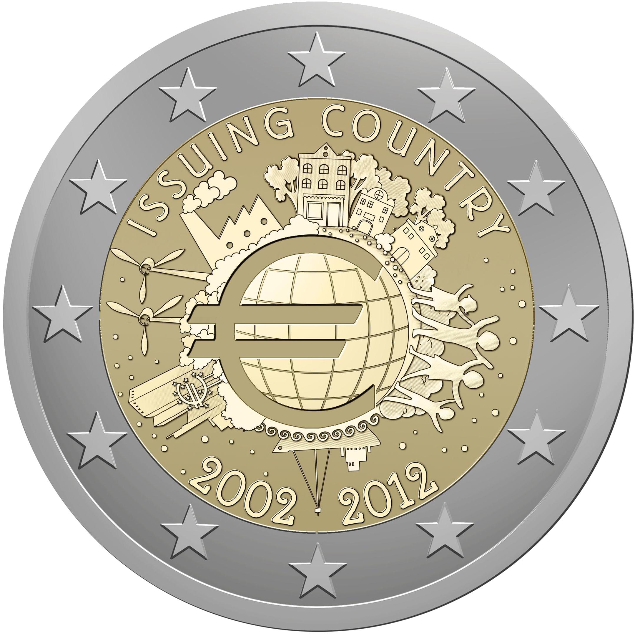 6e697dfde5 2 euro commemorativi emessi nel 2012 - Wikipedia