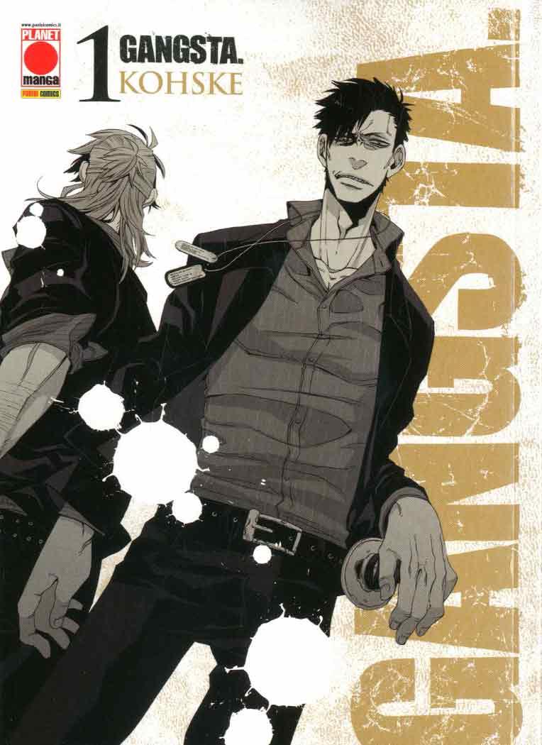 gangsta manga wikipedia