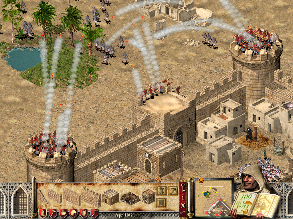 how to play stronghold crusader extreme