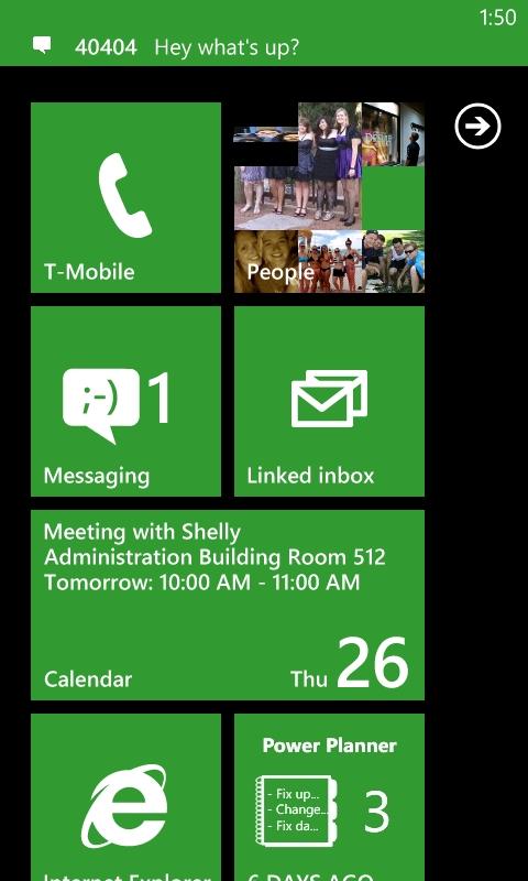 Collegare app per Windows Phone