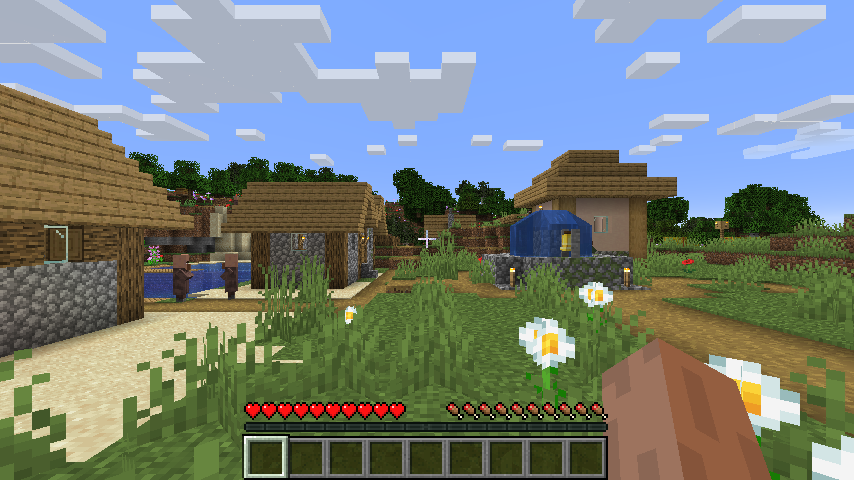 Cancello Di Legno Minecraft : File minecraft survival wikipedia