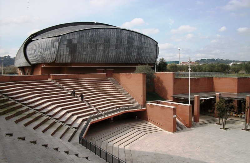 Risultati immagini per auditorium parco della musica