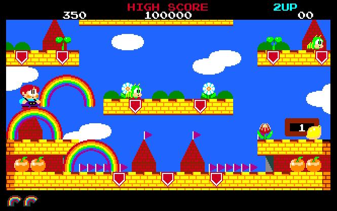 Rainbow Islands  Wie Zweiten Spieler