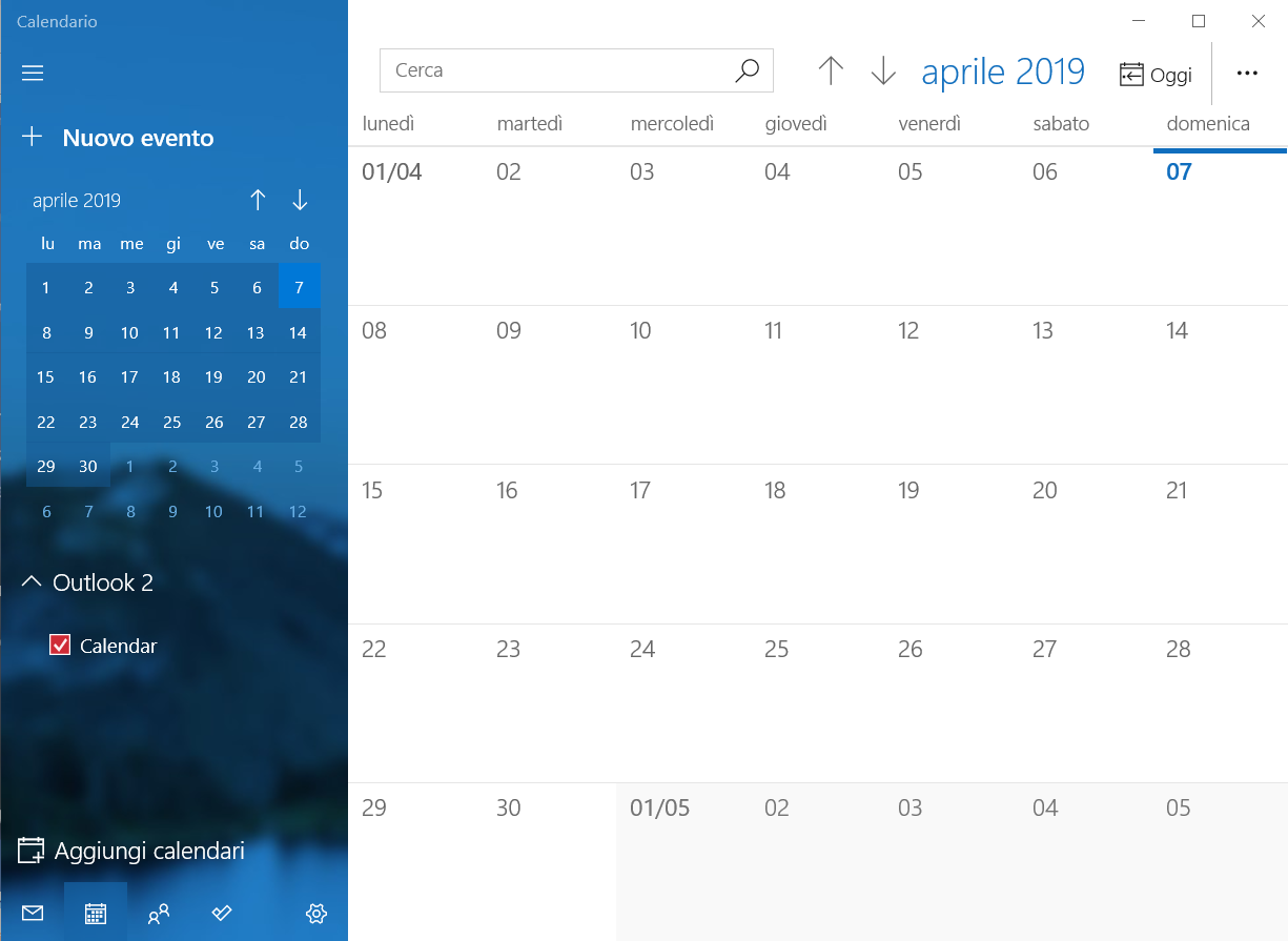 Condividere Calendario Outlook Senza Exchange.Calendario Windows Wikipedia