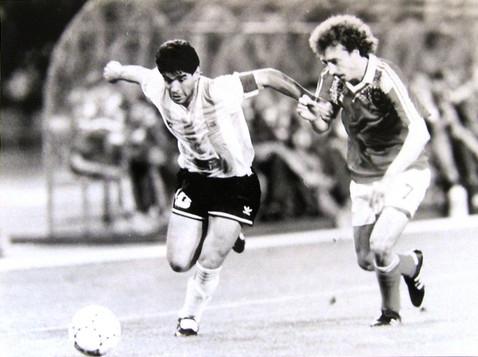 Alejnikov e Maradona