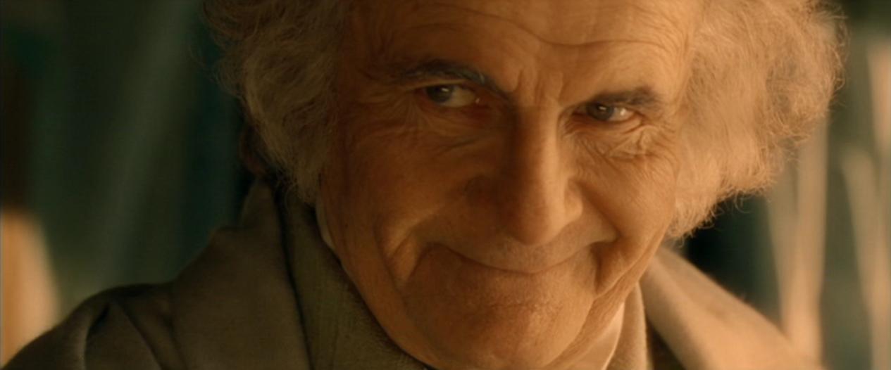 eccezionale gamma di colori diversamente aspetto estetico Bilbo Baggins - Wikipedia