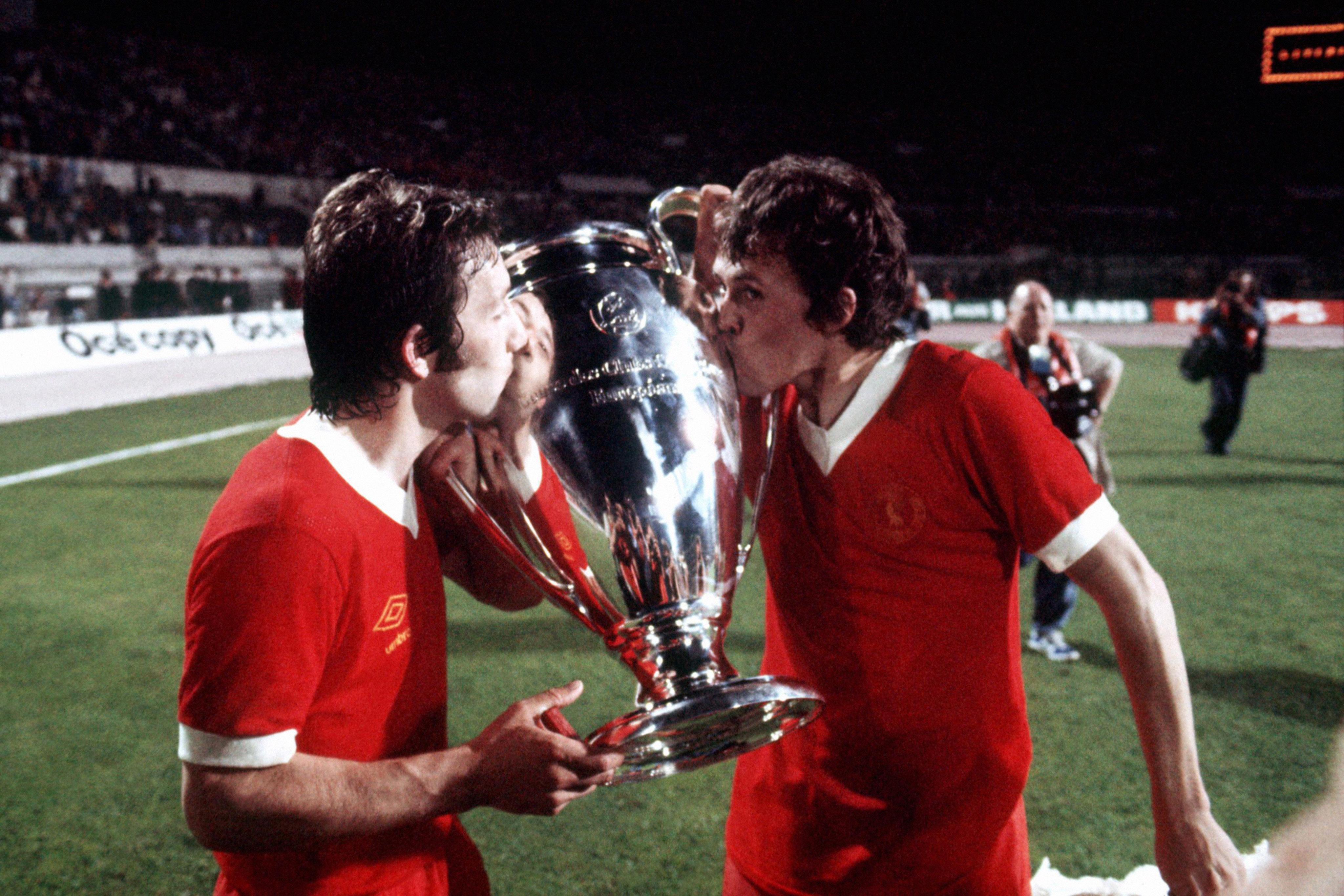 Le maglie di Liverpool e Real nella finale del 1981 | Numerosette Magazine