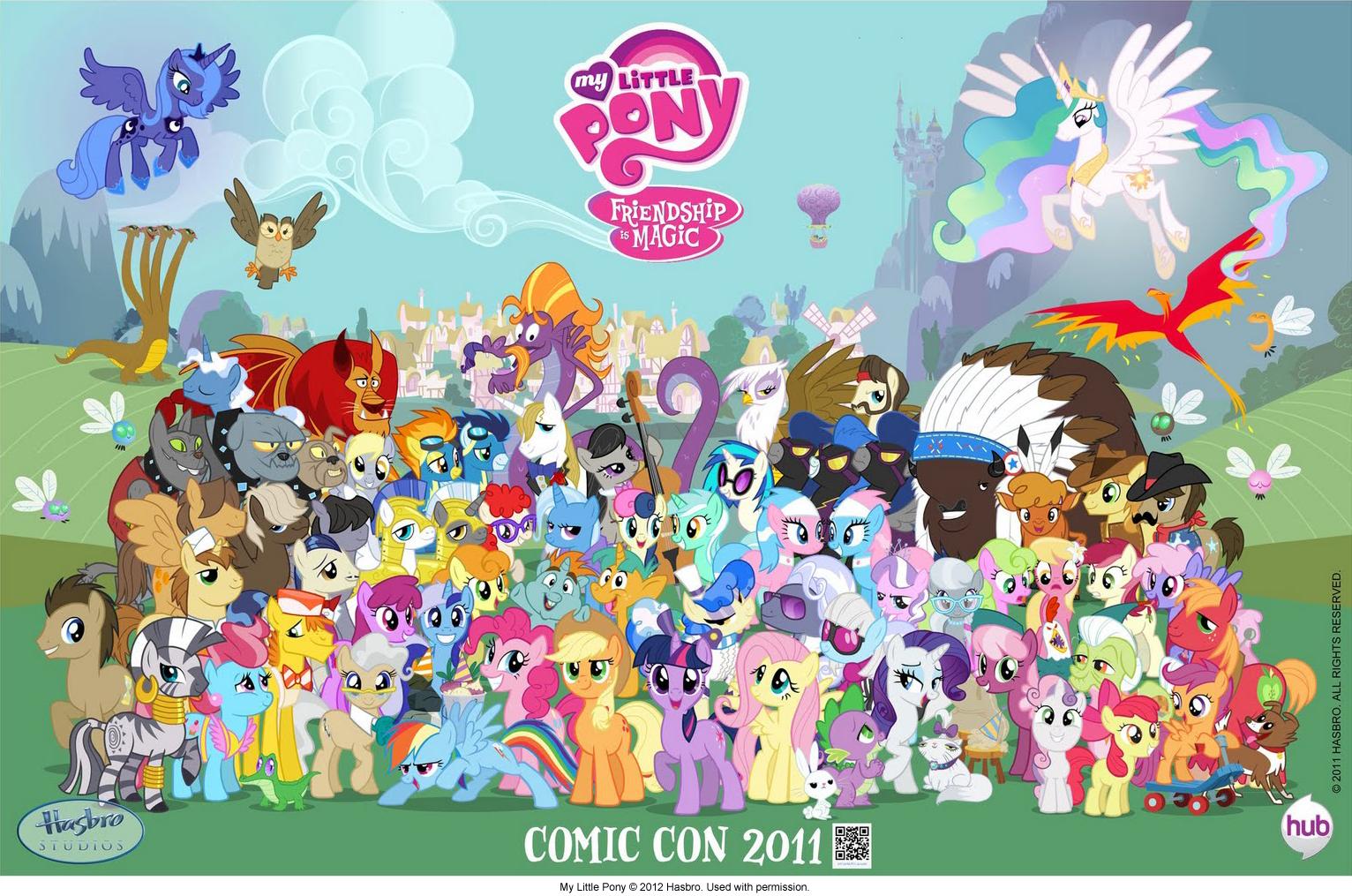 filecomic con my little pony posterpng wikipedia